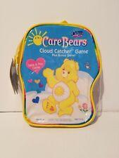 Care Bears Cloud Catcher Game + Bonus Game in Reusable Bag Take & Play NEW 2002