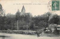 FONTAINE-les-DIJON - La Mare et l'Eglise (Côte d'Or)
