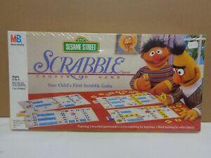 New Sealed Sesame Street Scrabble  by Milton Bradley 1992