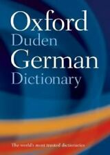 Oxford-Duden German Dictionary by M. Clark, J. B. Sykes, O. Thyen and Werner Sch