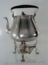 Garrard, London, England Sterling Silver Kettle On Stand. No Monogram