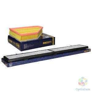 Inspektionspaket Luftfilter Pollenfilter BMW 3 E90 E91 E92 E93 1 E81 E87 X1 E84
