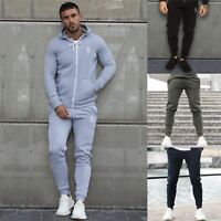 Eto Mens Slim Fit Joggers Cuffed Fleece Tracksuit Pants Sweat Jogging Bottoms