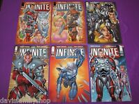 Infinite #1-4 Complete Image Set Run Comic Comics 2 3 Robert Kirkman Rob Liefeld