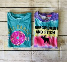 abercrombie Girls Donut And Tie Dye Shirts Size 11/12