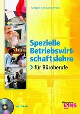 Spezielle Betriebswirtschaftslehre für Büroberufe. Lehr- Fachbuch - Karin Landgr