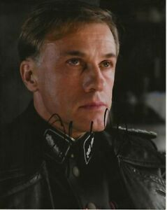 Christoph Waltz inglourious basterds authentic hand signed autograph photo AFTAL