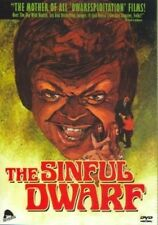 The Sinful Dwarf - Rare Cult Movie - (Full Frame DVD)