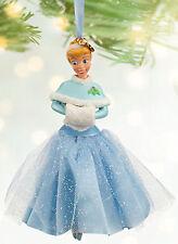 NEW 2013 Disney Store Princess CINDERELLA Sketchbook Christmas Ornament Dress