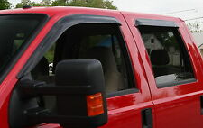 Ford F150 Super Cab 2009 - 2014  Tape on Wind Deflector Vent Visor Rainguards