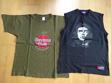 2 T-Shirts für Herren Havanna Club + Che - Größe M