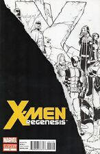 X-MEN : REGENESIS # 1 (2011) 2ND PRINT. VARIANT COVER BY HOLLOWELL
