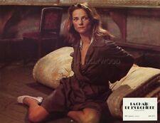 SEXY CHARLOTTE RAMPLING LA CHAIR  DE L'ORCHIDEE 1975 VINTAGE LOBBY CARD #2