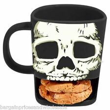 Novelty Funky Skull Buddies Brew Holds Biscuits Mugs slot