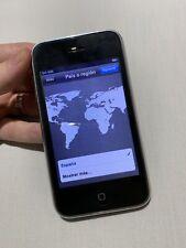 iPhone 3GS 16GB sin liberar, de la compañía TIGO (Honduras)
