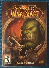 Blizzard Entertainment World of Warcraft Game Manual