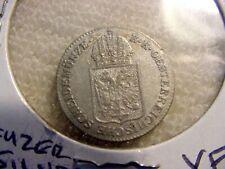 1849 A    AUSTRIA  6  KREUZER     SILVER  XF