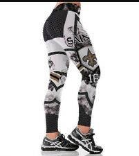 New Orleans Saints XXL (14/16) Leggings 2X #16 Coleman NOLA football Athletic