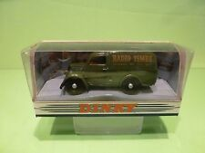 DINKY TOYS DY4 FORD E83W 10 CWT VAN - RADIO TIMES GREEN 1:43 - NEAR MINT IN BOX