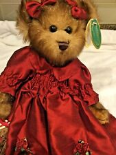 "Bearington Bears ""Greta Garland"" 14"" Plush Bear- #1348 - New- 2003"