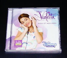 DISNEY VIOLETTA la musica è la mia vita per la colonna sonora serie TV CD NUOVO & OVP