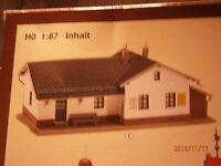 Faller H0 190230  131252 Bahnhof  Bergheim Moosgrund Bausatz NEU