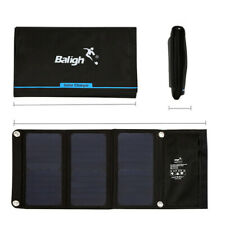 21W Foldable Solar Panel USB Charger for iPhone/Samsung Any USB Devices Outdoor