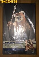 Ready! Hot Toys MMS550 Star Wars Return of the Jedi 1/6 Wicket New