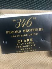 Brooks Brothers Mens Chino Pants (CLARK )36x32 NEW With Tags