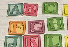 ABC & Numbers Building Blocks - FLANNEL FELT BOARD