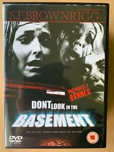 Don't Look in the Basement DVD 1973 DPP Video Nasty Cult Horror