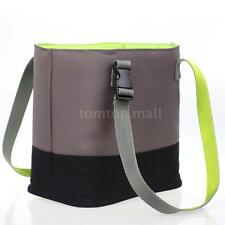 Foldable Food Bag Lunch Box Portable Tote Storage Traveling Picnic Bag H7X2