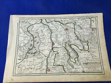 1706 MAP holland NETHERLANDS city VENLO gelderland RIVER MAAS roermond GERMANY