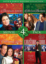 CHRISTMAS SHOES/BLESSING/HOPE/ CHOIR (DVD, 4 FILM) FAITH AND FAMILY
