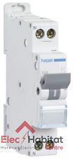 Disjoncteur unipolaire+neutre à vis 6A Hager MFN706