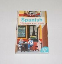 Lonely Planet: Phrasebook & Dictionary SPANISH Paperback Book, 2015 - NEW - ede