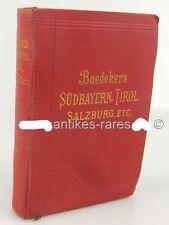 Baedeker's Handbuch- Südbayern Tirol und Salzburg 1906