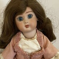 """14"""" artist LJM  antique French Steiner Reproduction bisque head Doll A9"""
