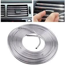 6M U Style Chrome Door Air Conditioner Outlet Vent Trim Grille Strips Car Auto