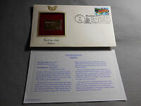 USPS 2002 IDAHO America Gold Stamp 22kt overlay First Day Cover USPS