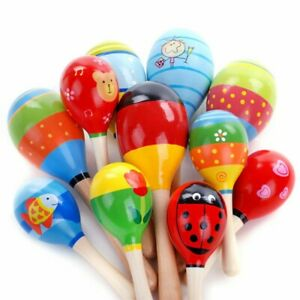 BABY Rattle Newborn Plastic Hand Bell Intelligence Early Develop NEW Toy 1 pcs