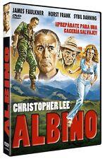 ALBINO Whispering Death (1976) **Dvd R2** Christopher Lee, Sybil Danning