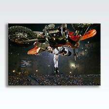 "RED BULL X-FIGHTERS CANVAS Stunt Bike Poster Print Photo Wall Art 30""x20"" CANVAS"