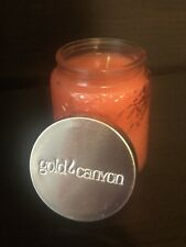 Gold Canyon Heritage 5oz Island Flower Jar Candle Rare.. NEW