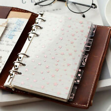 Folders Address Book Index Dividers Subject Dividers Category Leaf Index Page