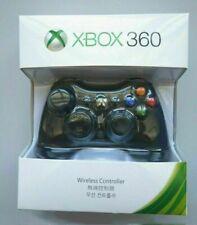 Official Genuine Microsoft Xbox 360 Wireless Controller - Black - UK STOCK #K1