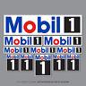 SKU2667 - 11 x Mobil 1  Oil Stickers Decals Racing Car Bike Rally Nascar