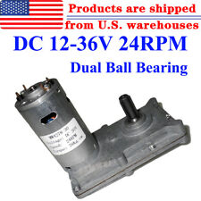12V 24V 36V Reversible Metal Gearbox Motor DC Gear Motor High RPM Low Noise IG