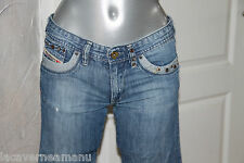 jeans droit délavé used fille  DIESEL perlys TAILLE 14 ans (34-36)