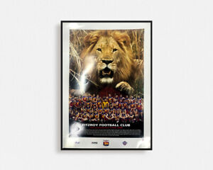 FIZTROY LIONS 1996 POSTER